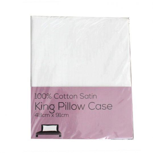 100% Cotton King Size Pillowcase