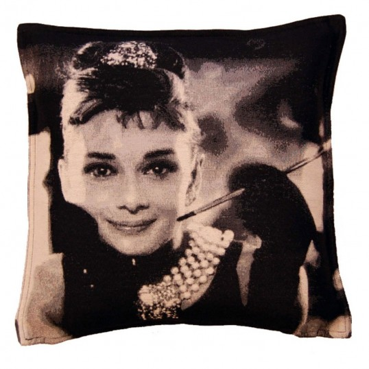 Audrey Hepburn cushion