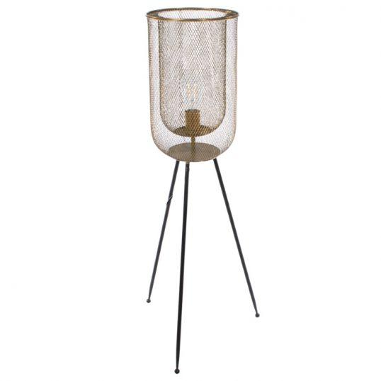 Azure mesh floor standing lamp