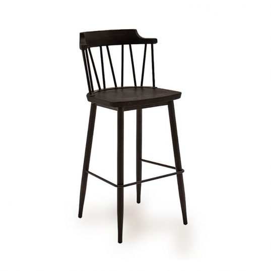 Blake Bar Chair – Black Elm