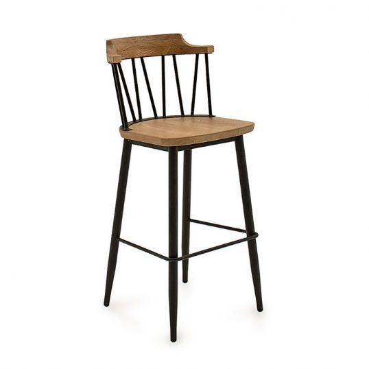 Blake Bar Chair – Natural Elm