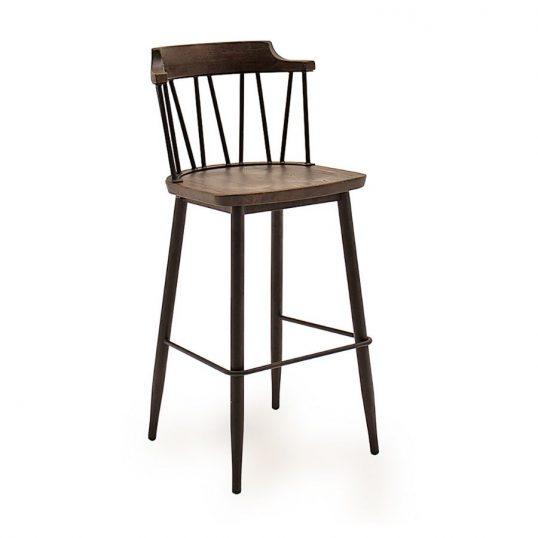 Blake Bar Chair – Rustic Elm