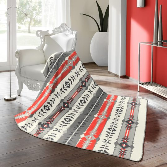 Bocasa Thermosoft Aztec Multi Throw