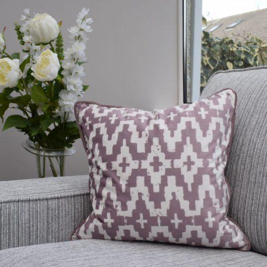 Pink Aztec Cushion