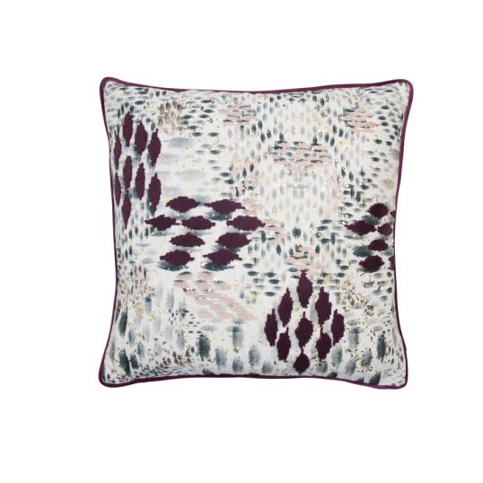 Chopin Aubergine Cushion