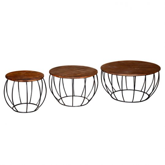 Durango Coffee Table – Nesting set