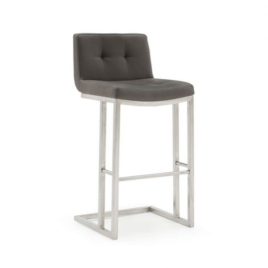 Elstra Bar Chair – Grey