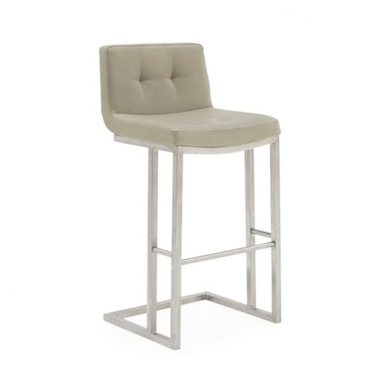 Elstra Bar Chair – Taupe