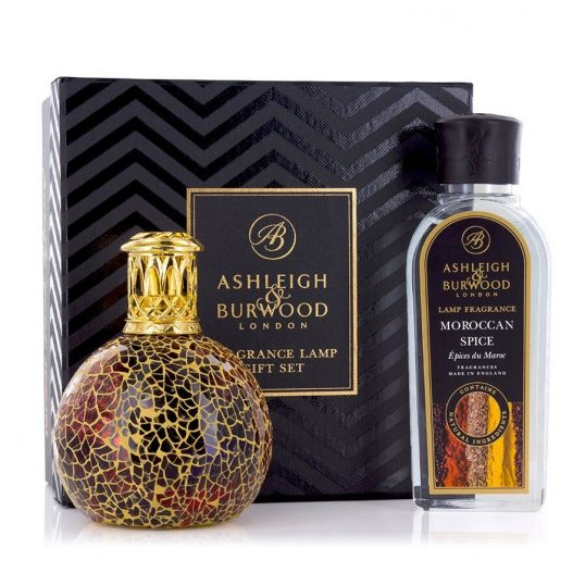 FRAGRANCE LAMP GIFT SET – GOLDEN SUNSET & MOROCCAN SPICE