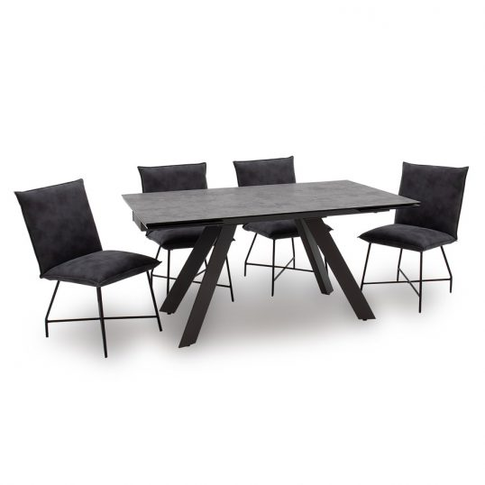 Flavia Dining Table Extending