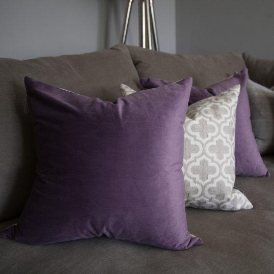 Heather Velvet Cushion
