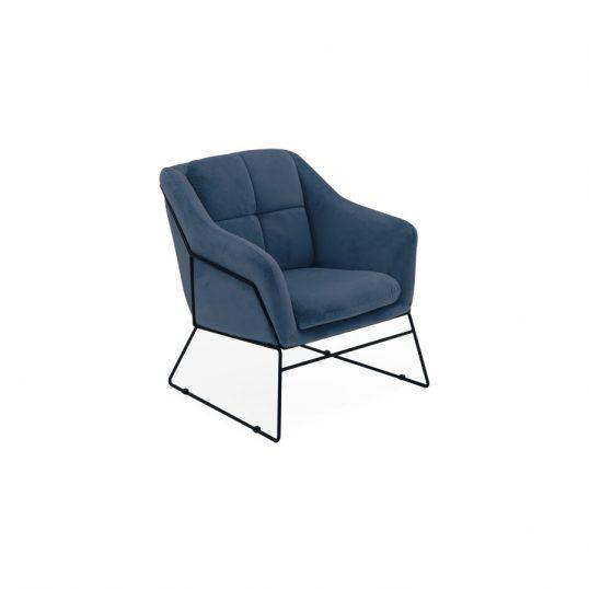 Klaus Accent Chair – Blue