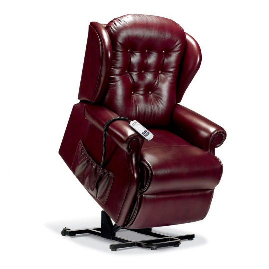LYNTON LEATHER 'LIFT & RISE' RECLINER