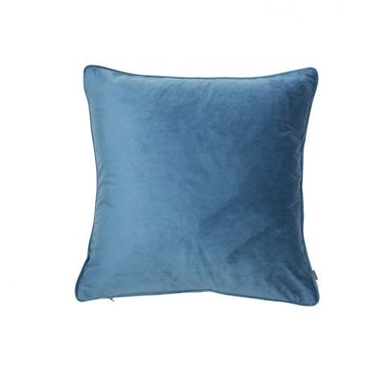 Large Luxe Bluewing Cushion
