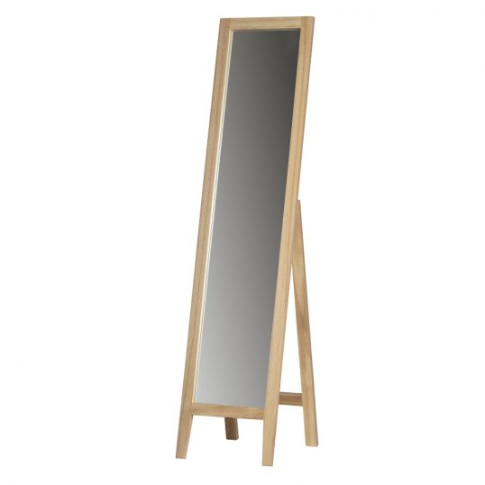 Liv mirror wood natural