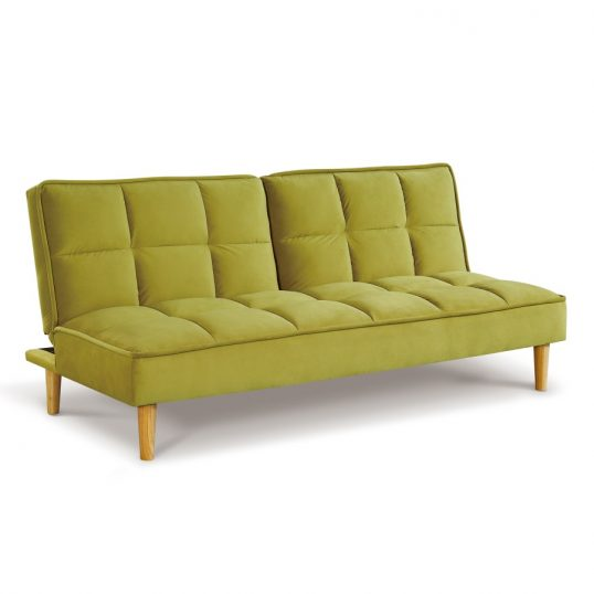 Lokken Sofa Bed – Green