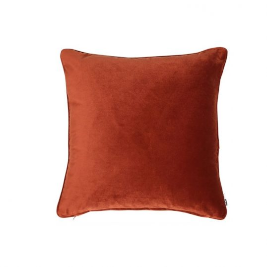 Luxe Paprika Cushion