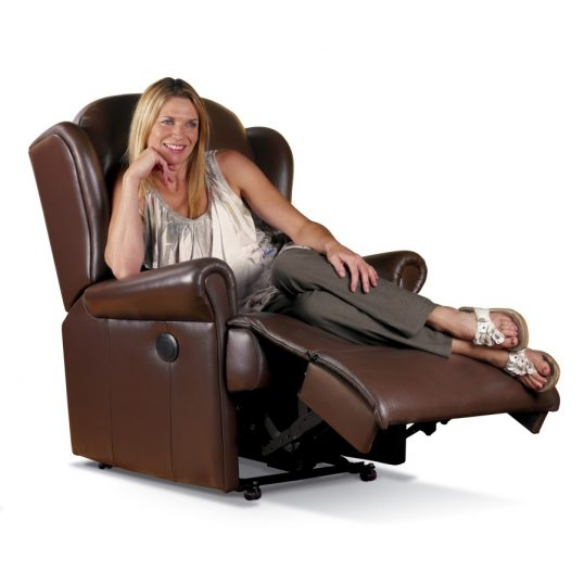 MALVERN LEATHER RECLINER