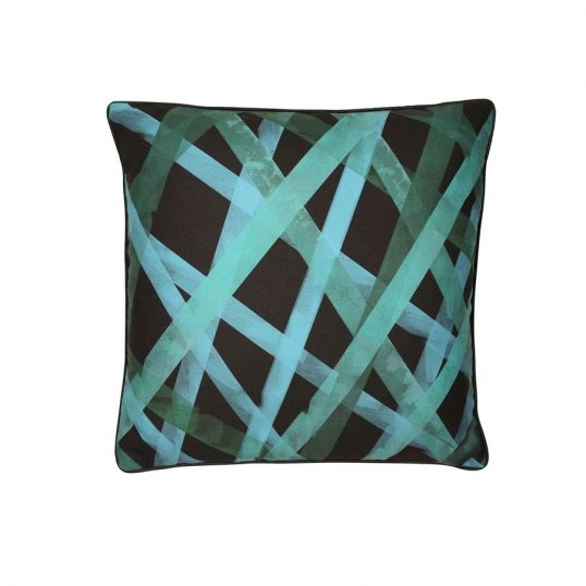 Nastro Green Cushion