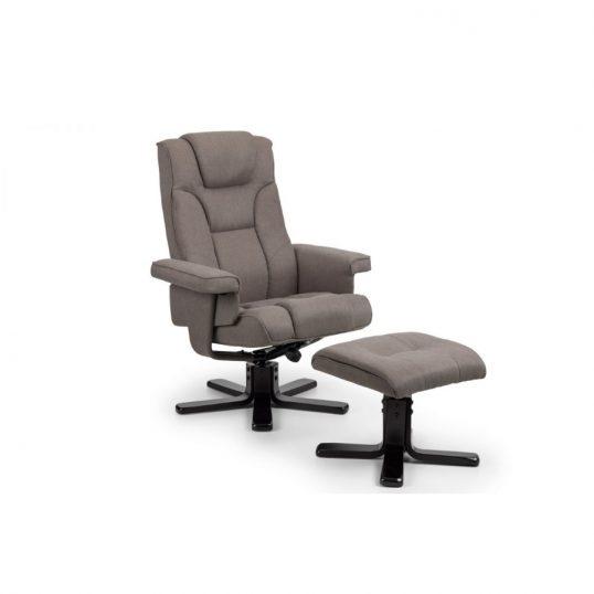 Malmo Swivel recliner grey