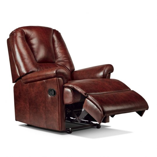 Milburn Leather Recliner