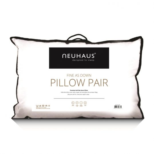 Neuhaus Fine as Down Pillow Pair