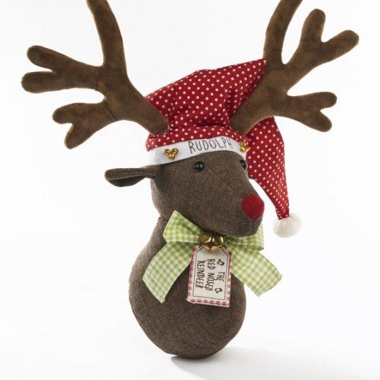 Festive Deer Head