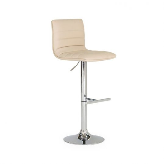 Retro Bar Stool – Cream