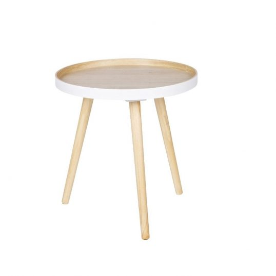 Retro Side Table Natural