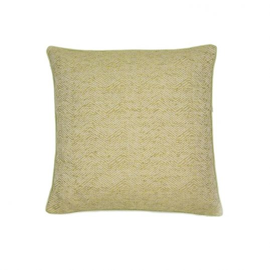 Ripple Green Cushion