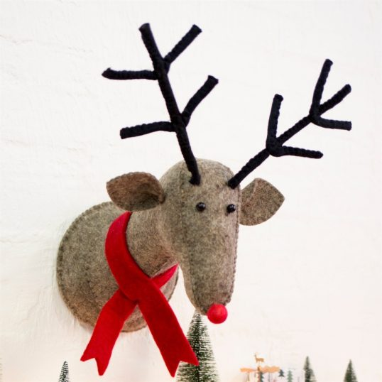 Rudi Reindeer Wall Decor