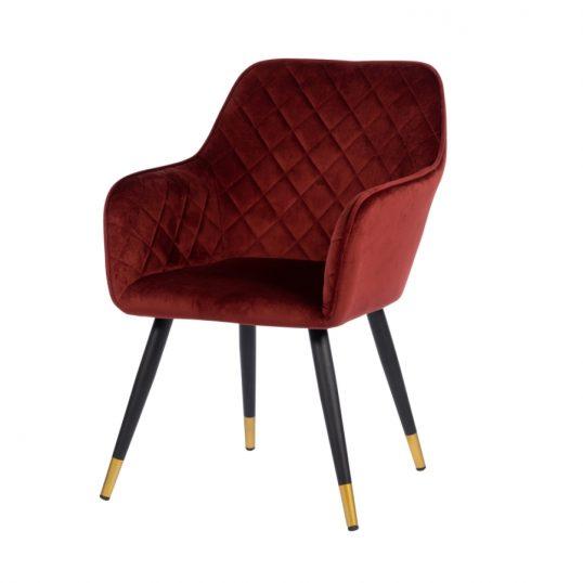 Monaco Chair Burgundy