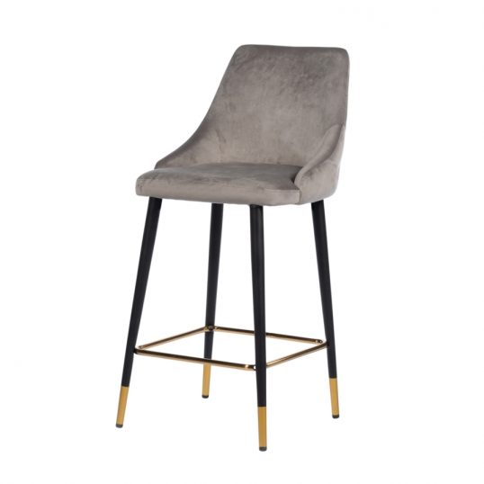 Monaco button back island stool