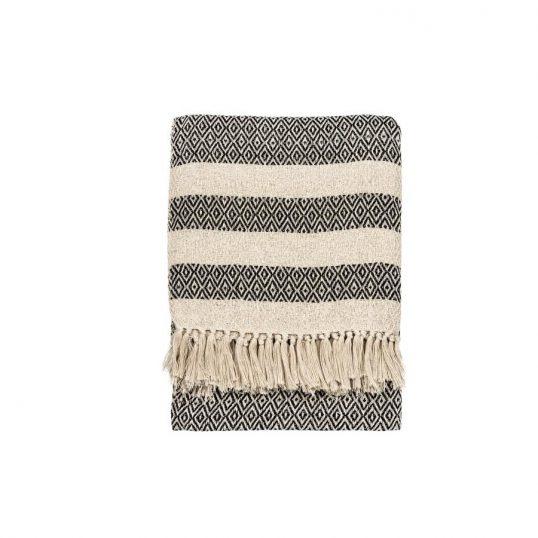 Scandi Boho Cotton Blanket Throw
