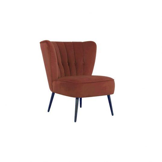 Selma Accent Chair – Copper