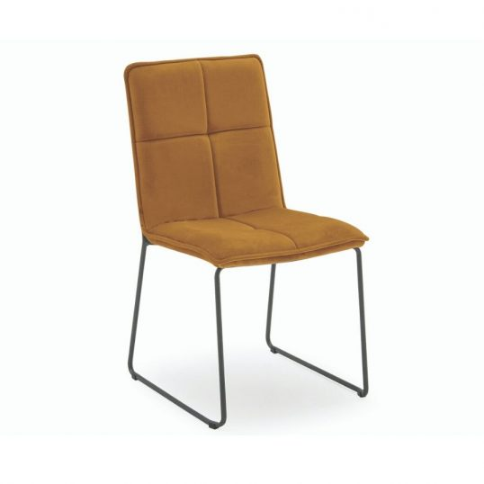 Soren Dining Chair – Mustard