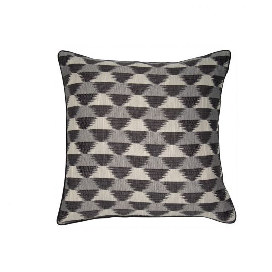 Large Sunrise Grey Cushion