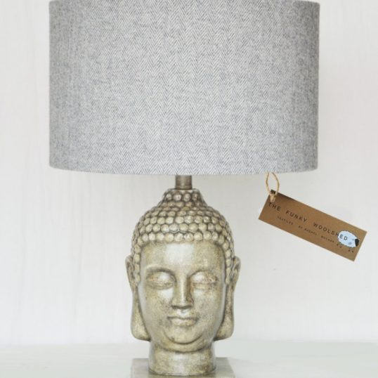 THE FUNKY WOOLSHED BUDDHA LAMP