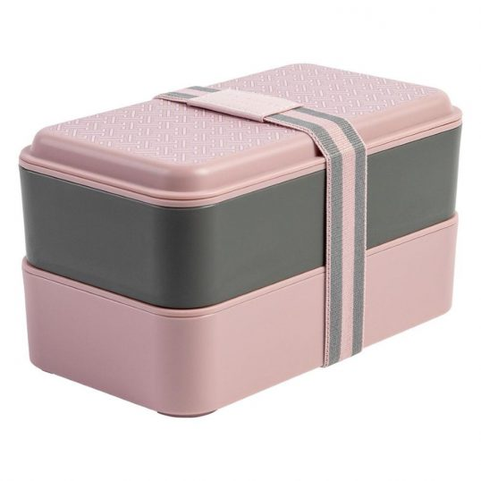 Ted Baker Dusky Pink Stackable Lunch Box3