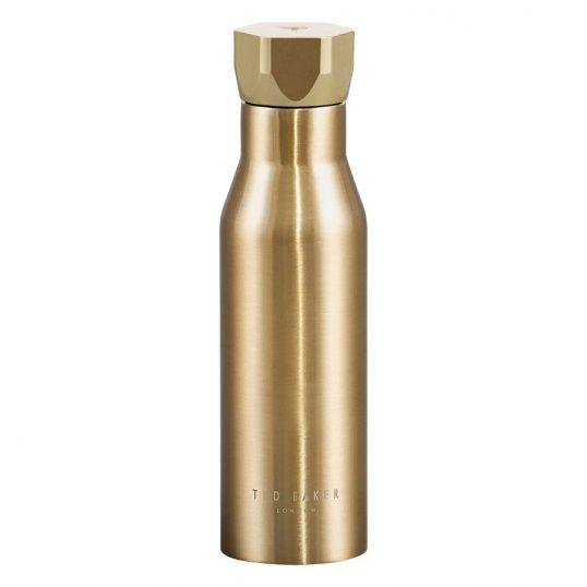 Ted Baker Gold Water Bottle1