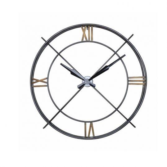 Transparent Grey Clock