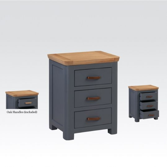 Treviblue 3 Drawer nightstand