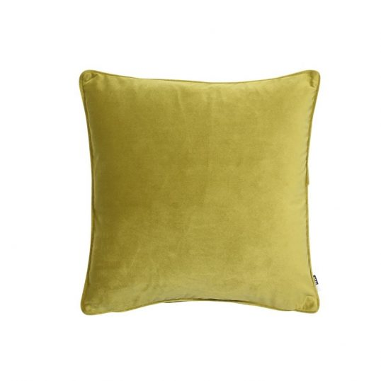 Velvet Luxe Cushion Acid Green