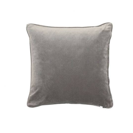 Velvet Luxe Cushion Grey