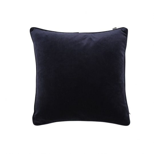 Velvet Luxe Cushion Navy