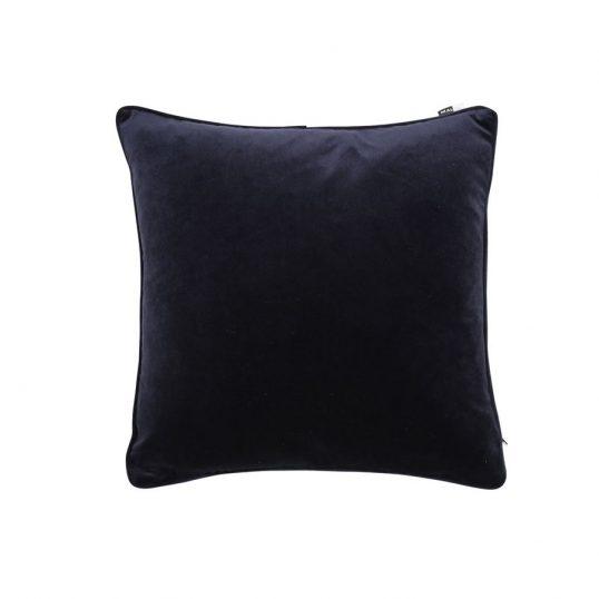 Large Velvet Luxe Cushion Navy