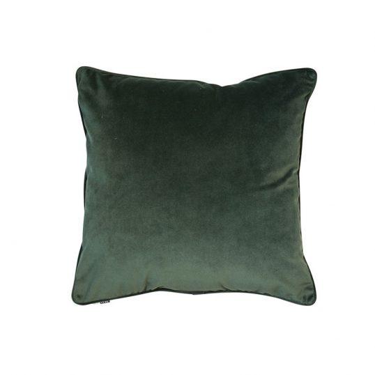 Velvet Luxe Cushion Pine Green