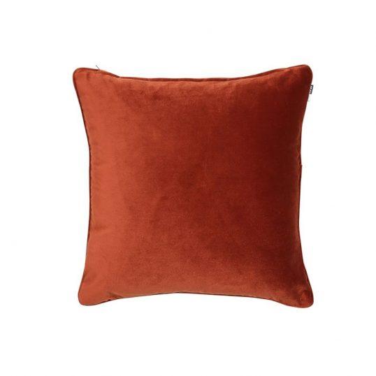 Velvet Luxe Cushion Rust