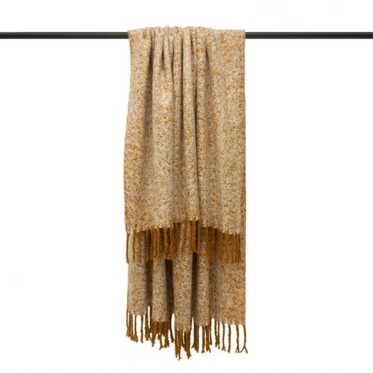 Weaver Throw in Gold