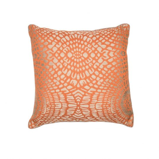 Zora Orange Cushion
